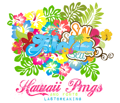 #HawaiiPngsAndFonts by EthernalSymphony