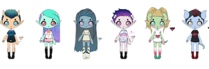 ONE LEFT Low Price Kesshos Adoptables || CLOSED by AngelAdopts
