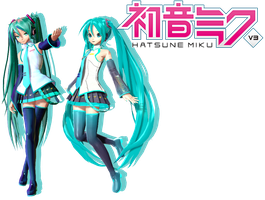 PDA Miku V3 - V3 English -DL!!!- by MegurineSempai