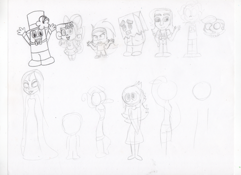 Inside Out OCs In Disney Infinity Style (WIP) by KatieGirlsForever