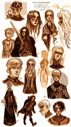 Game of thrones - sketches by ElisEiZ