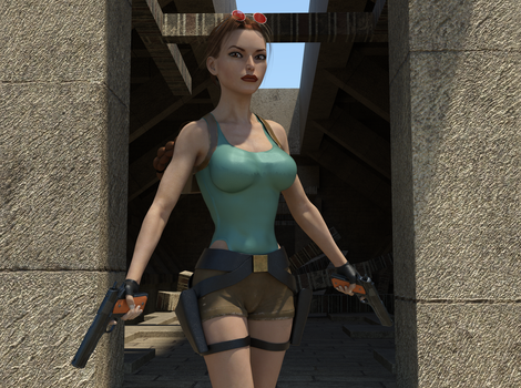 Classic Raider 3 by tombraider4ever