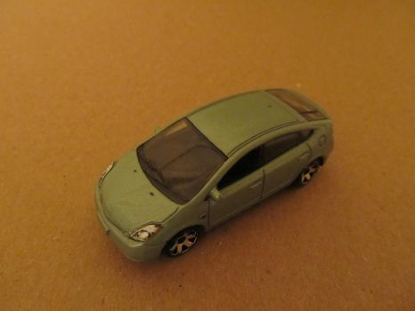 Matchbox 2008 Toyota Prius 1 by MichaelB450