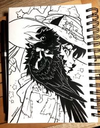 Inktober 2017 Day 25 - (Companion)Ship by celesse