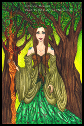 Lady of the Forest by blue-willow