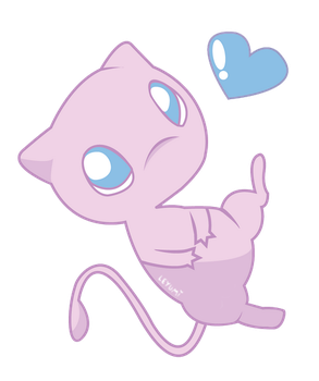 Lovely Mew by LeticiaYumi