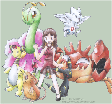 My Pokemon Team by Meowzzie
