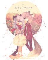 { to be with you } by LUAQ