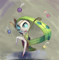 Flat Brush Meloetta
