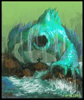 Water Colossus by akhrzmed