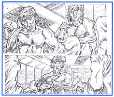 NAKED MAN AT THE END OF TIME - Page 25 Pencils by KurtBelcher1