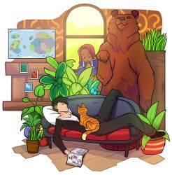 Stardew Valley - Sleeping Farmer by Zennore
