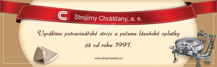 Stall banner (Strojirny Chrastany, a. s.) by M-Curiosity