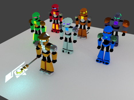 BIONICLE G3 3D characters by phillipPbor