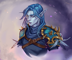 Bust commission: Veredis Moon Willow by Orsob