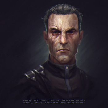 Dishonored - Assassin Daud fan art by CorderoStorm