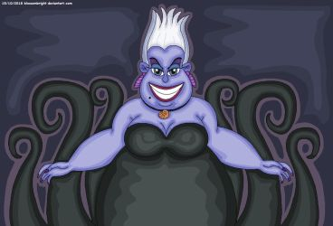 Ursula The Sea Witch by BlossomBright