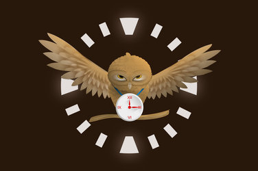 An Owl - Master of Time by Dobrotek