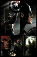 Captain America page 2 by JPRart