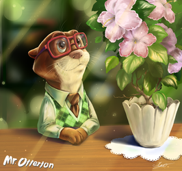 Mr. Otterton (Zootopia) by Leo-Artis
