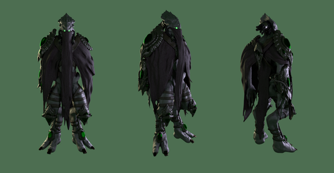 Zeratul 3D Fan Art by dillongoo