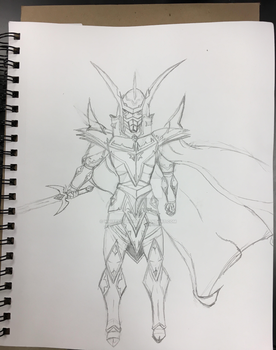 Timaus the knight of destiny by whiteknight64
