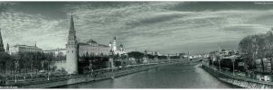riverside pano. Moscow by Tommy-Noker