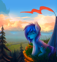 Hiking in the mountains by Atlas-66