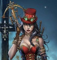 Sneak Peek: Helsing from Unleashed issue #1 by jamietyndall