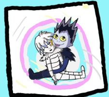 Rem and Ryuk by Darnell-99