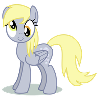 Derpy Hooves Front View by Killer-Dash