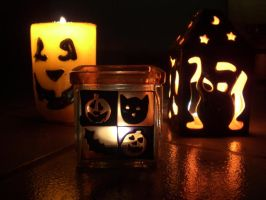 Halloween Lights by Alleby