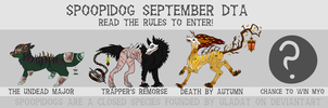 SPOOPIDOGS: September DTA [CLOSED] by uladat
