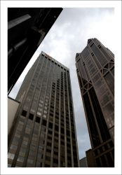 Surrounded by Skyscrapers by decryption