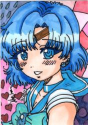 Sailormercury ACEO by JATGProductions