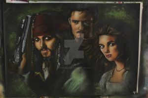 Pirates of the Caribbean by buntUNDkreativ