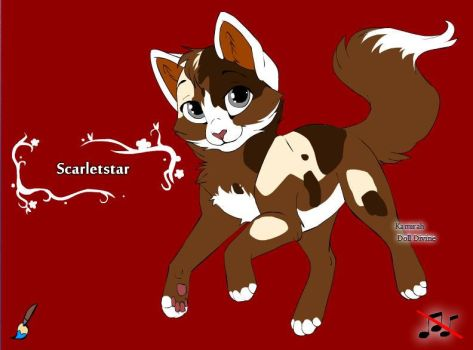 Scarletstar for BloodClan by Rose-graphics