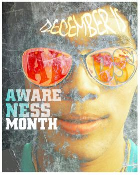 AIDS AWARENESS MONTH by poissons
