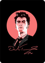 The Tenth Doctor by ZacharyFeore