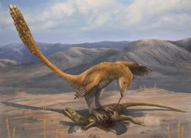 Deinonychus Prey Restraint by EWilloughby
