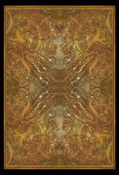 tapestry? or card back by blue-fusion