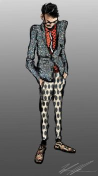 Rubber Turf Sport Coat by TyStaDye