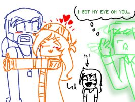 Minecraft Story Mode S2 : Jack X Petra And Jesse? by TheMaroonLightning