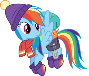 Vector #549 - Rainbow Dash #65 by DashieSparkle