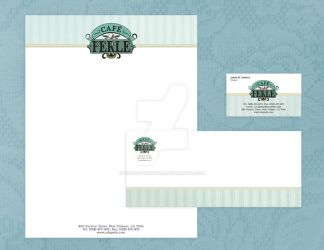 Cafe Perle Identity Package by Violent-Insomnia