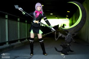 Shinoa Hiragi - Owari no Seraph by Miss-Fairy-Floss