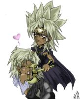 Yami and Marik by Ashurri3987