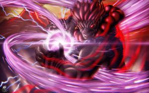 Akuma from Street Fighters by Unreal-Forever