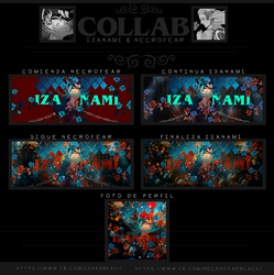 Collab compartido ft. Iza by SandyClock