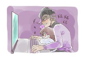 When D.va is with Sombra by Shocolad